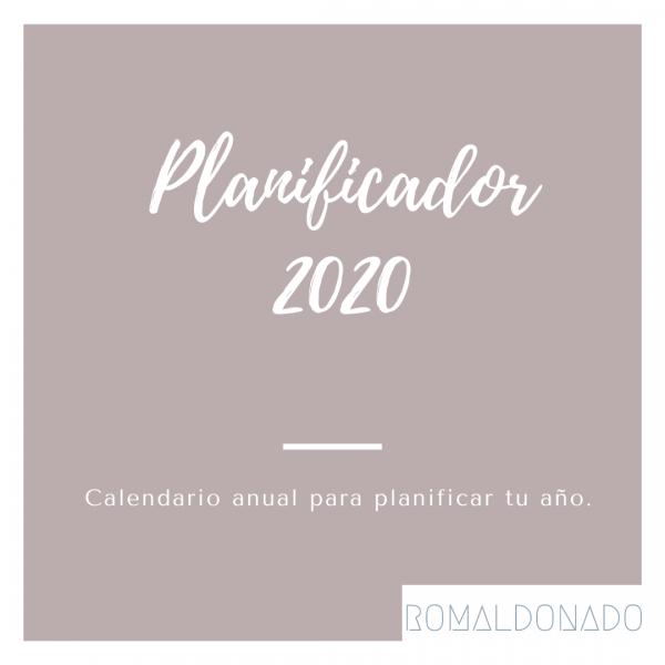 Planificador 2020