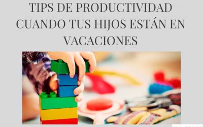 Qué hacer para que tus hijos sean productivos en vacaciones