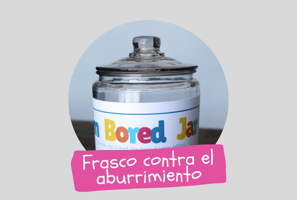 Bored Jar - Frasco contra el aburrimiento